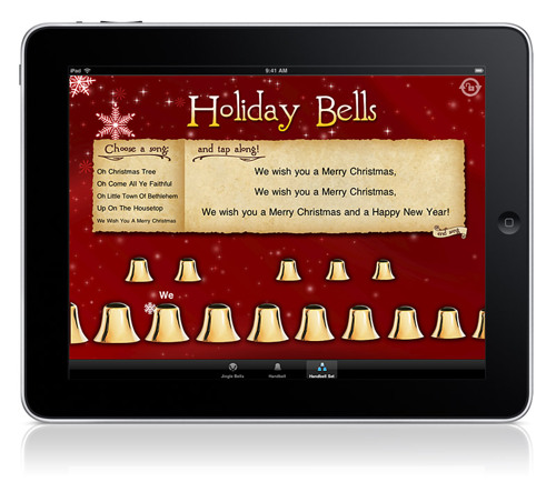 Holiday Bells on the iPad